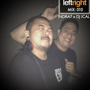 LEFTRIGHT.MIX 010: INDRA7 x DJ ICAL