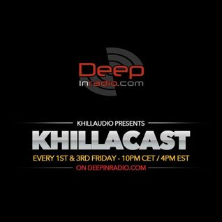 KhillaCast #039 January 1st 2016 - Deepinradio.com