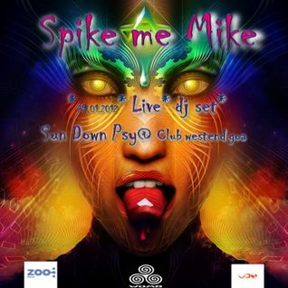Spikememike live dj set @ sun down psy 29.12.2012 club west end goa