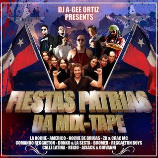 DJ AGEE ORTIZ PRESENTS FIESTAS PATRIAS' DA-MIXTAPE