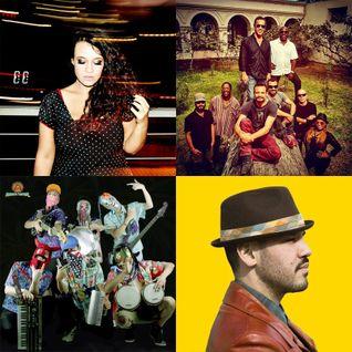 Movimientos show: 7/10/15 w/ DJ NegroDub, Boogat ft La Yegros, Tulipa Ruiz, Bixiga70, Novalima