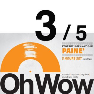 Paine - Oh Wow 5 hours set @ Cox 18 (21.01.2011) Part 3