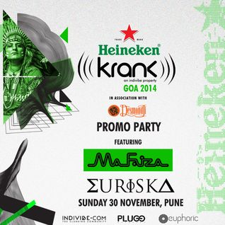 MA FAIZA LIVE @ KRANK PRE PARTY - EURISKA NOV 2014 PART 2.