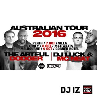 DJ IZ Artful Dodger Vs DJ Luck + MC Neat Tribute Mix UKG UK Garage * Radio AFRO Australia