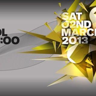 Eddie Halliwell - Live @ Cream Nation (Liverpool) - 02.03.2013