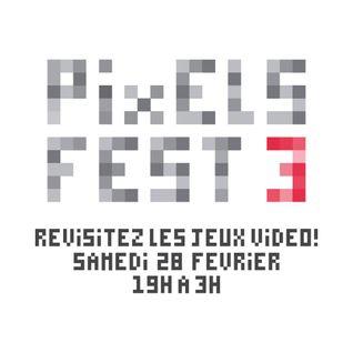 Pixelfest3 Montréal Nuit Blanche 2015 @ Vitrine Culturelle