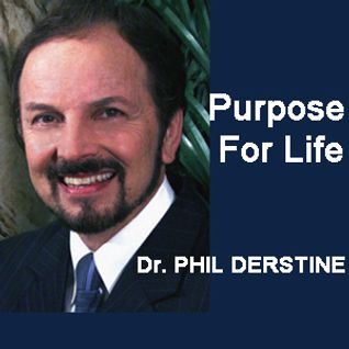 Pastor Phil Derstine interviews Andrew Leonard, a candidate for County Commissioner