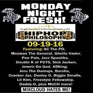 HipHopPhilosophy.com Radio - LIVE - 09-19-16