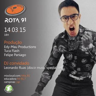 Rota 91 - 14/03/15 - Educadora FM