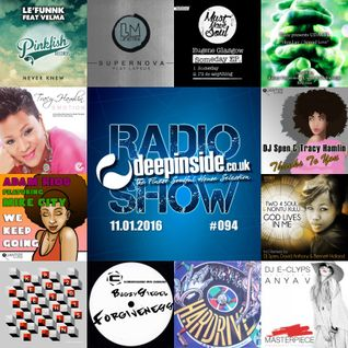 DEEPINSIDE RADIO SHOW 094 (Tracy Hamlin Artist of the week)