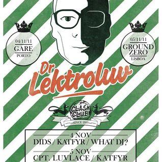 Electro Junkie - Clash Club Set - 5 Nov 2011