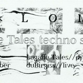 Lagaffe Tales techno special Vol. 3 at Paloma 15.10.2015