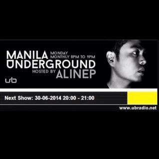 Manila Underground with Alinep at UB Radio :: June 30, 2014
