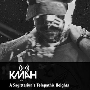 A Sagittariun's Telepathic Heights - KMAH Radio - 29th August 2015