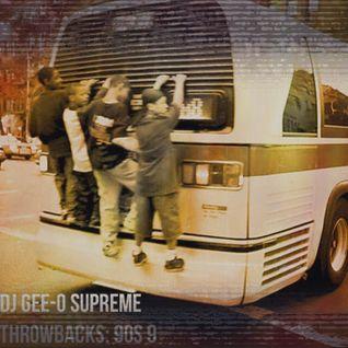 DJ Gee-O Supreme Throwbacks: 90s 9
