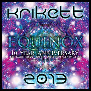 Krikett - Equinox / Touch Samadhi 2013 - psytrance