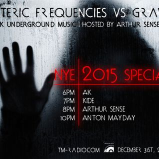 DJ kiDe - Esoteric Frequencies NYE 2015 Special [December 2014] on tm-radio.com
