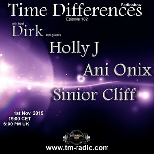 Dirk - Host Mix - Time Differences 182 (1st Nov. 2015) on TM-Radio