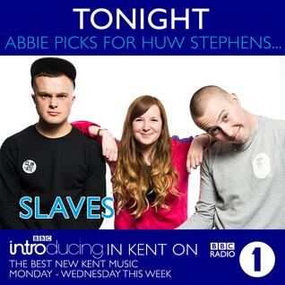 Abbie McCarthy on Huw Stephen's BBC Radio 1 show - Monday 6th July 2015