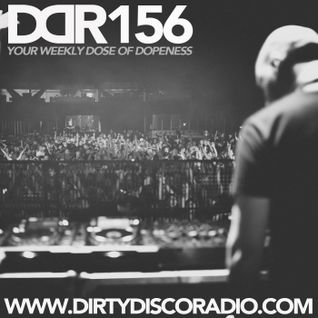 Dirty Disco Radio 156, Hosted by Kono Vidovic, Vinyl only guest-mix by Roy Verschuren