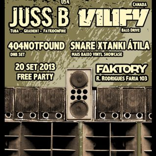 Juss B (USA) @ Mais Baixo - 20/09/13 - Faktory Club