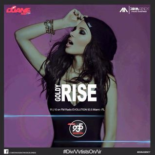 DJ Goldy Rise - MIX on FM Radio EVOLUTION.93.5 Miami - FL