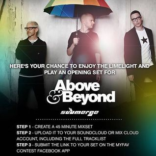 Opening Set for Above & Beyond - MyFav Contest