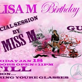 Live @ Lisa M's Bday Bash and Friends, Mansion Night Club, PR .1-18-13