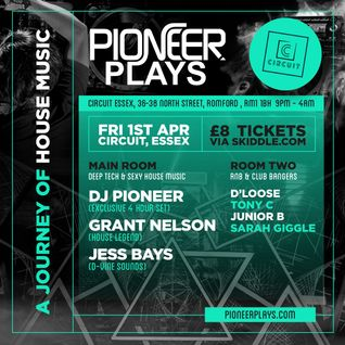 Pioneer Plays (Fri 1st Apr 2016) Deep House Promo Mix