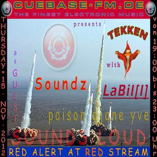 LaBil[l]: TEKKEN@CUEBASE-FM.DE - SOUNDS LOUD (15. Nov. 2012)