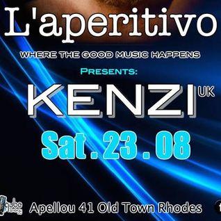 Kenzi - Late night at L'aperitivo - 23/08/14