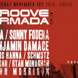 Groove Armada  - Live At Shine, 19th Birthday (Belfast) - 01-Dec-2014