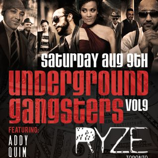 Atif Live At Ryze Underground Gangsters Vol 9