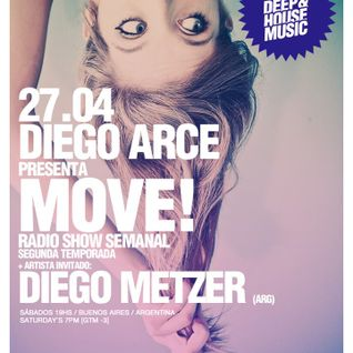 Diego Metzer - MOVE Radioshow Guest Mix (Apr 27th, 2013)