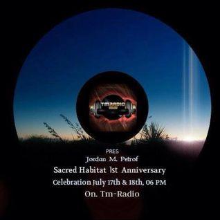 Adham Goda - Sacred Habitat 1st Anniversary [Guest Mix 18-07-2013]
