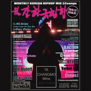 MONTHLY KOREAN HIPHOP MIX Vol.01