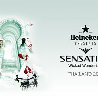 Mr. White - Live @ Wicked Wonderland, Sensation Thailand - 31.01.2014