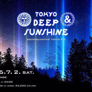 DEEP & SUNSHINE TOKYO #15 @ R LOUNGE 2016.7.2