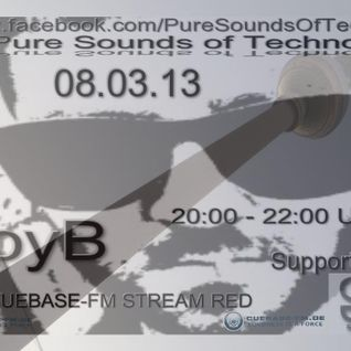 JoyB @ Pure Sounds of Techno (Cuebase FM)