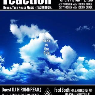 2014/08/05 MASAHIRO 3.84 LIVE MIX @ ACD ROOM reaction 4th Anniversary Party!!