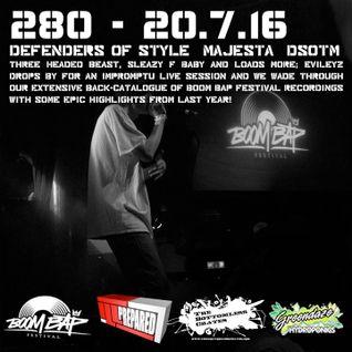 The Bottomless Crates Radio Show 280 - 20/7/16