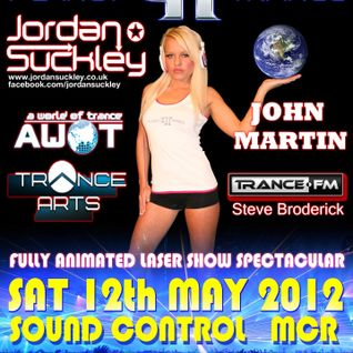 Anthony Beckett - Planet Trance @ Sound Control - Manchester 12th May 2012