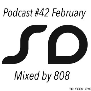 SoundDesigners Podcast #42 February Mixed By 808