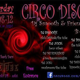 25/08/2012 - Dj Smooth live @Circo Disco (The Tube)