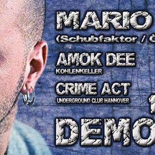 Mario Ranieri @ Underground Club Hannover, Germany 12.04.2014