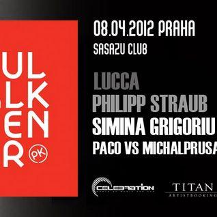 P@co&MichalPrusa Opening set @ SaSaZu Prague 8.4.2012