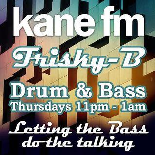 KFMP: Frisky-B Drum & Bass 12th May 2016 Vinyl D&B Show
