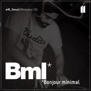45e BML CAST | Daoust