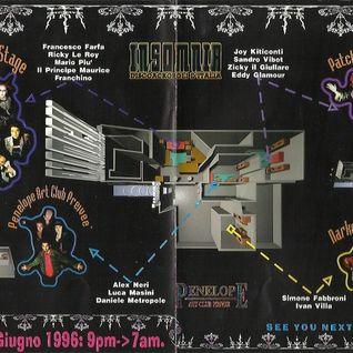 INSOMNIA disco acropoli d'Italia 1996.06.08 chiusura dj Ricky Le Roy voce Franchino e Michel Altieri