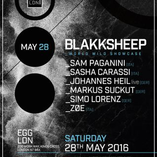 Zøe - Live @ Egg Club Blakksheep Showcase (London, UK) - 28.05.2016